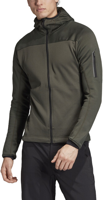 adidas TERREX Stockhorn Hooded Fleece Jacket Men legear